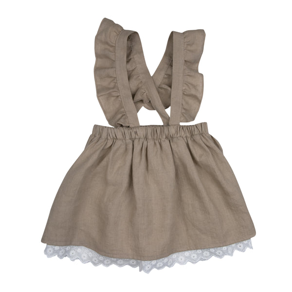 Natural Beige Ingrid Skirt - Mabel Child