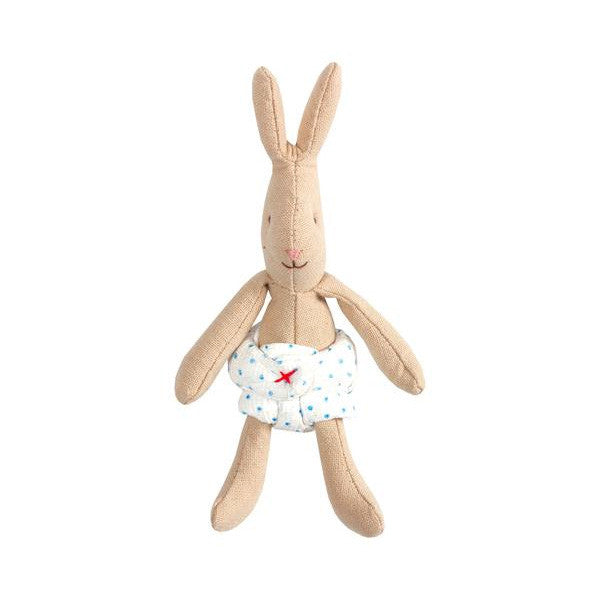 Micro Rabbit With Cloth Nappy - Mabel Child