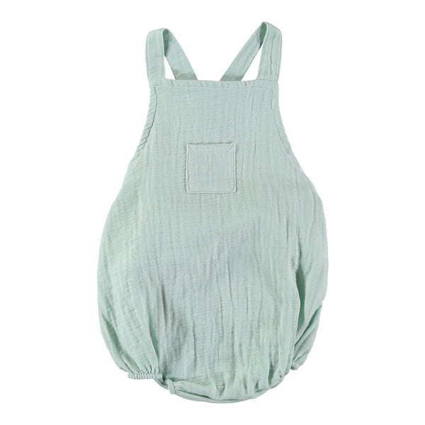 Mika Romper - Mint - Mabel Child