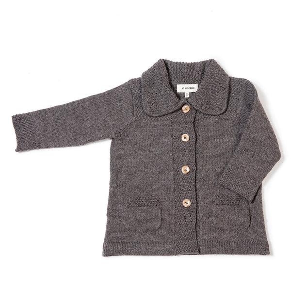 Moss Jacket In Mushroom - Mabel Child