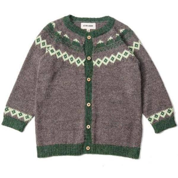 Mountain Cardigan - Wood - Mabel Child