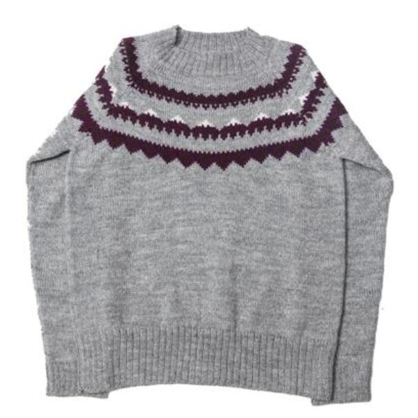 Mountain Sweater - Grey - Mabel Child
