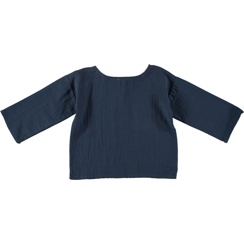 Oversize Shirt - Antra Blue - Mabel Child