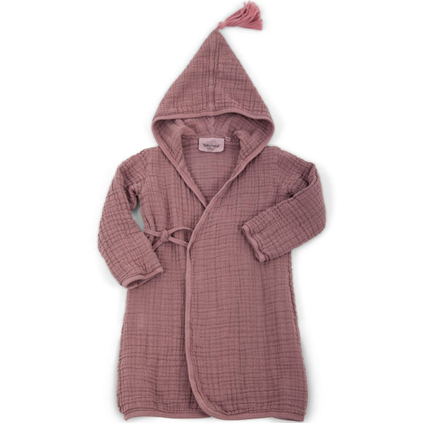 Pepin Kimono Dressing Gown - Taupe - Mabel Child