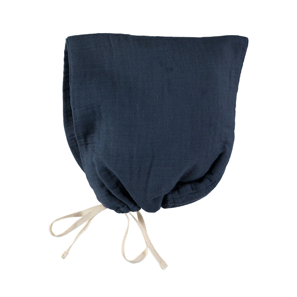 Pixi Bonnet - Antra Blue - Mabel Child