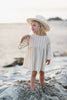 Stripe Ivory Dress - Mabel Child