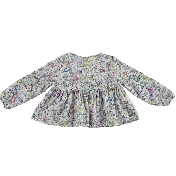 Wildflower Baby Romantic Dress - Mabel Child