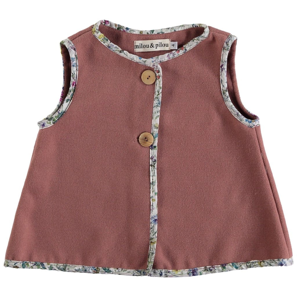 Rose Vest - Mabel Child