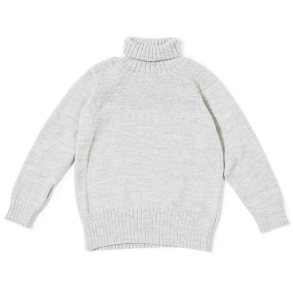 Sailor Sweater In Light Grey - Mabel Child