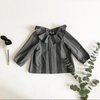 Sorgo Black & Grey Stripes Jacket - Mabel Child