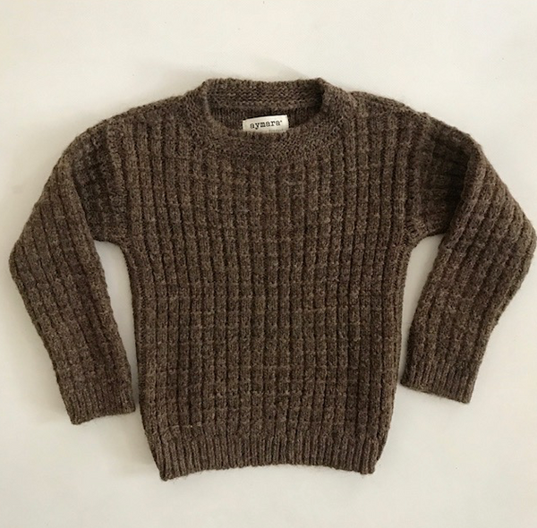 Newen Sweater - Coffee - Mabel Child
