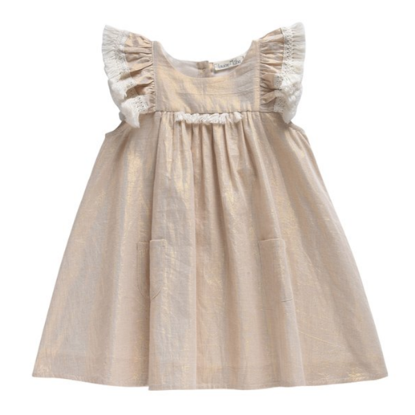 Gold Acapulco Dress - Mabel Child