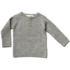 Grandpa Sweater , Grey - Mabel Child