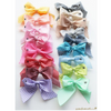 Vichy Sailor Bow Clip - Mabel Child