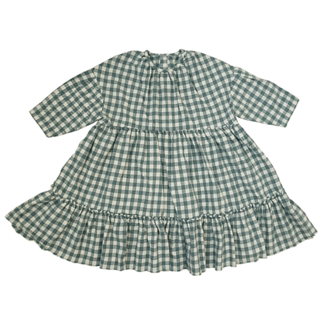 Vintage Check Dress - Mabel Child