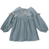 Rozalia Dress - Sliver Cloud - Mabel Child