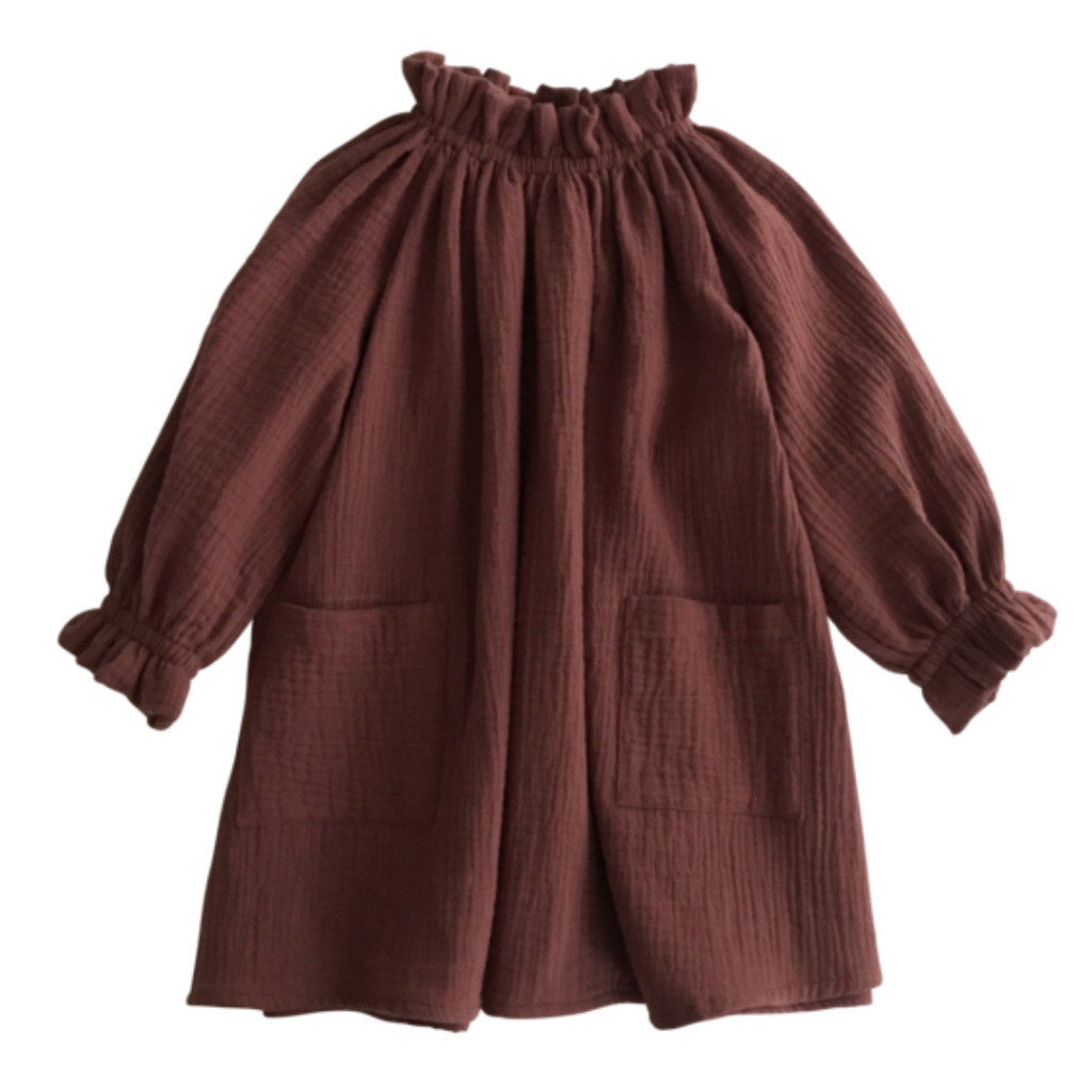 Oana Dress - Chesnut - Mabel Child