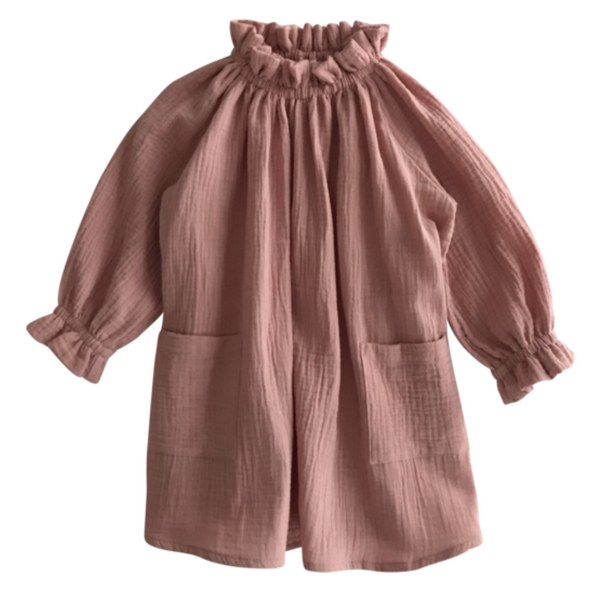 Oana Dress - Rose - Mabel Child