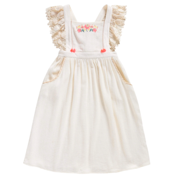 Hawai Dress - White - Mabel Child
