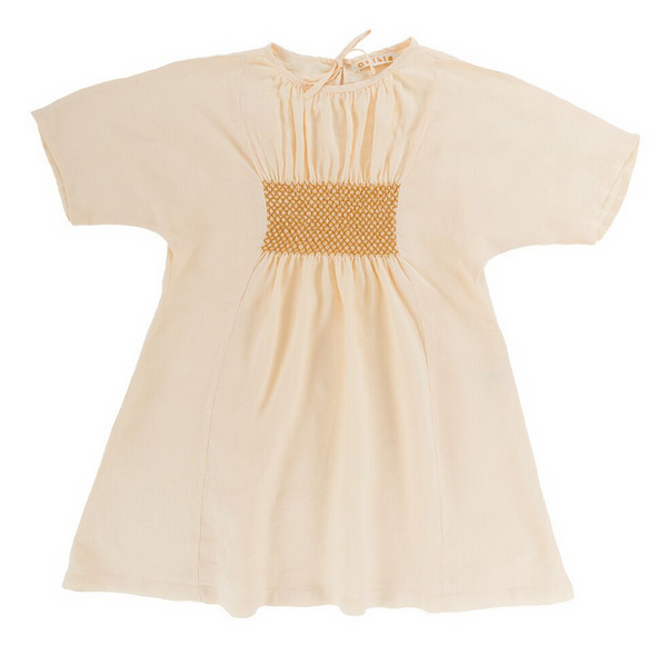 Bella Dress - Cream - Mabel Child