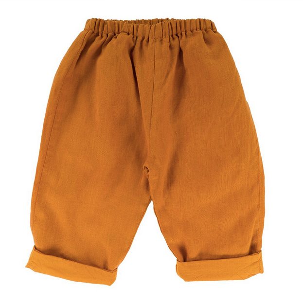 Casper Trouser - Sunrise Orange - Mabel Child