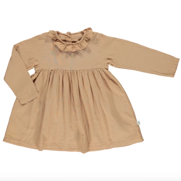 Campanule Dress - Indan Tan - Mabel Child