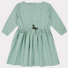 Knightsbridge Dress - Tourmaline Painted Check - Mabel Child