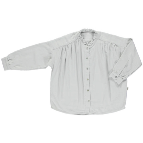 Amande Glacier Blouse - Gray - Mabel Child