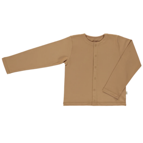 Camomille Cardigan - Brown Sugar - Mabel Child