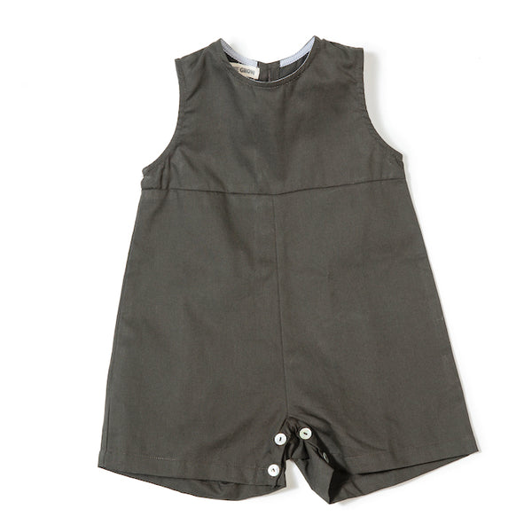 Sibling Overall In Olive - Mabel Child