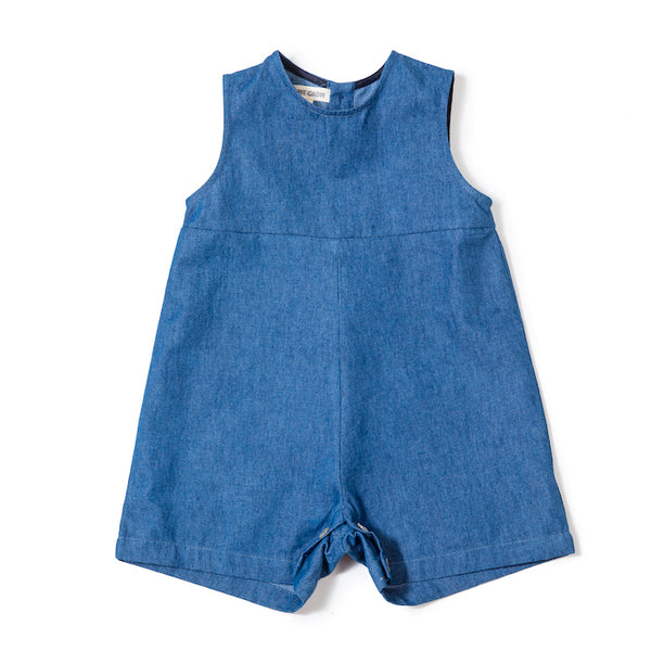 Sibling Overall Navy - Mabel Child