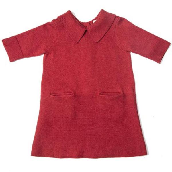 Sister Dress - Red - Mabel Child