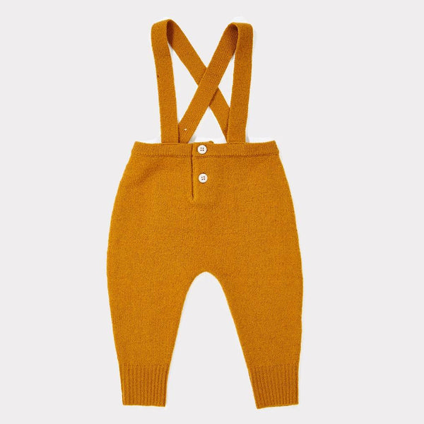 Aella Baby Romper - Mustard - Mabel Child