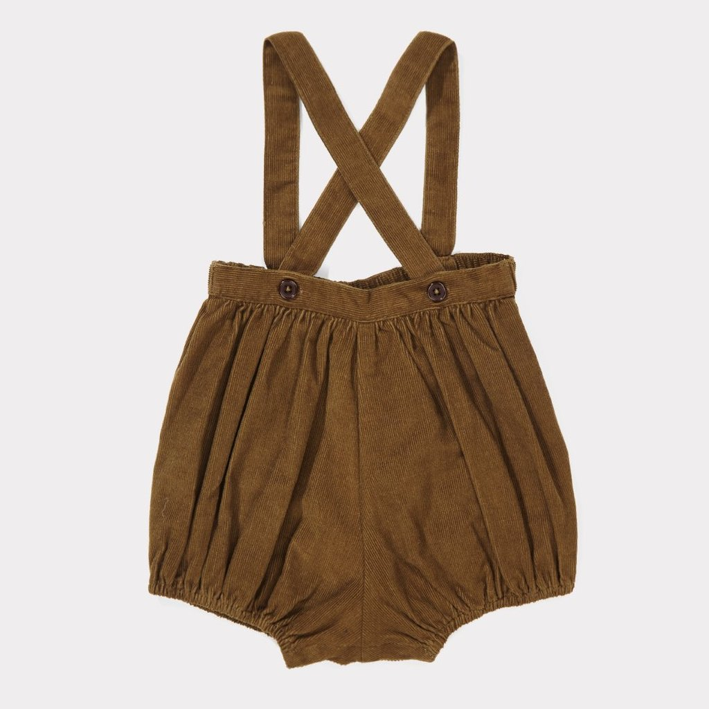 Albatross Baby Romper - Khaki - Mabel Child