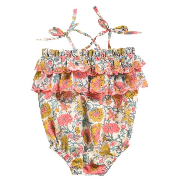 Matanzas Romper - Multi Flowers - Mabel Child