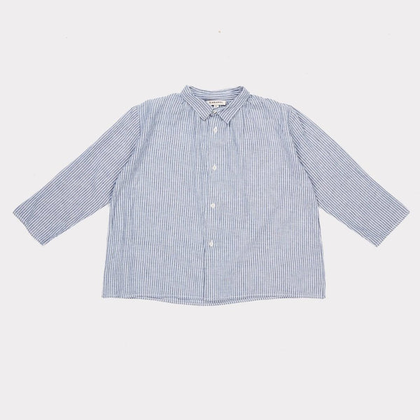 Crocus Stripe Shirt - Flint - Mabel Child