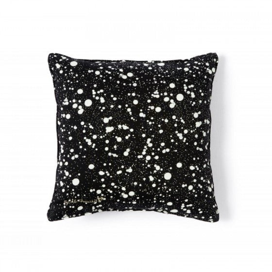 April Showers By Polder Black Galaxy Cushion - Mabel Child
