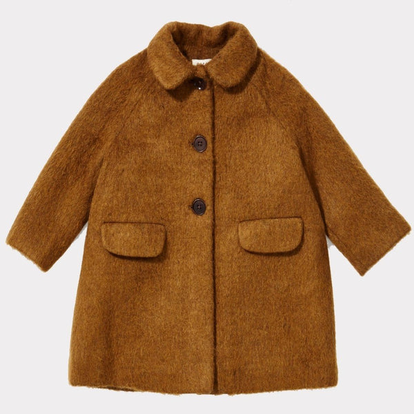 Flamingo Coat In Camel - Mabel Child