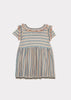 Baby Foxglove Knitted Dress - Multi Colour - Mabel Child