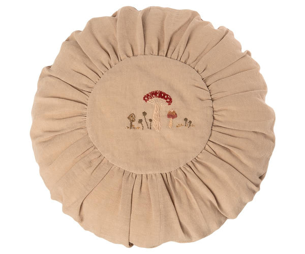 Cushion Round Large - Mushroom Sand - Mabel Child