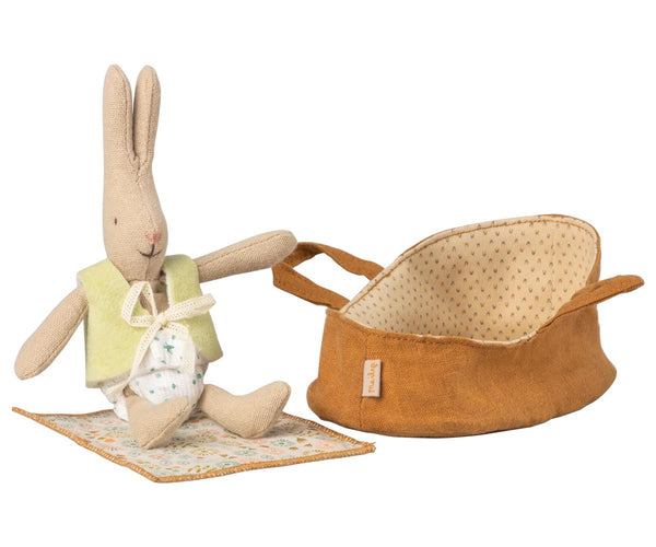 Micro Rabbit In Carrycot - pre order - Mabel Child
