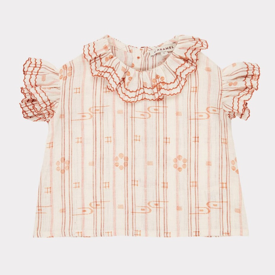 Hammersmith Baby Top - Rose Tan - Mabel Child