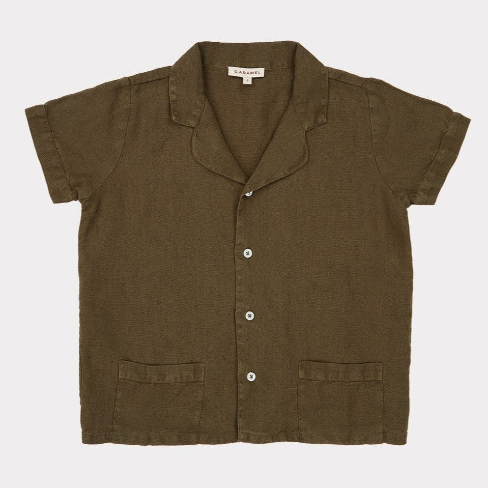 Holborn Shirt - Army Green - Mabel Child