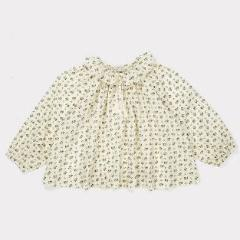 Ditsy Clover Baby Blouse - Mabel Child
