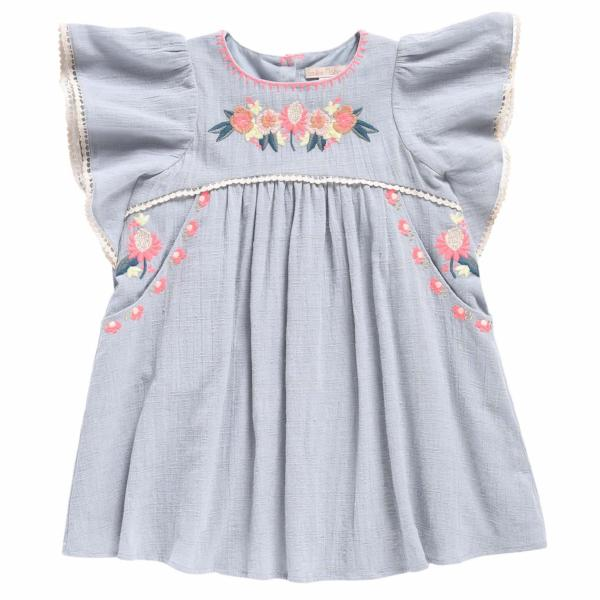 Vanilla Sliver Cloud Dress - Mabel Child