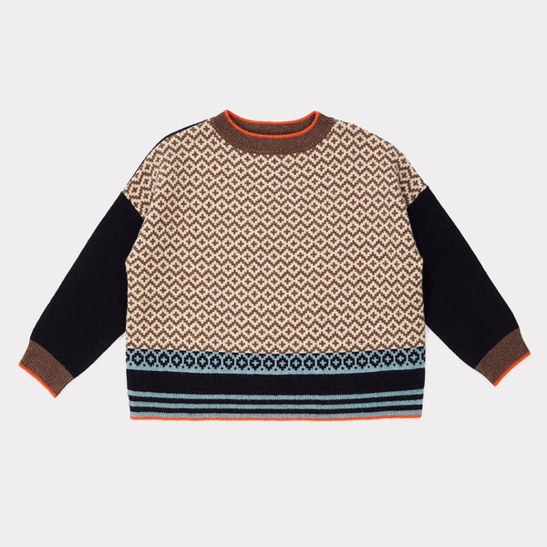 Minos Jumper - Navy - Mabel Child