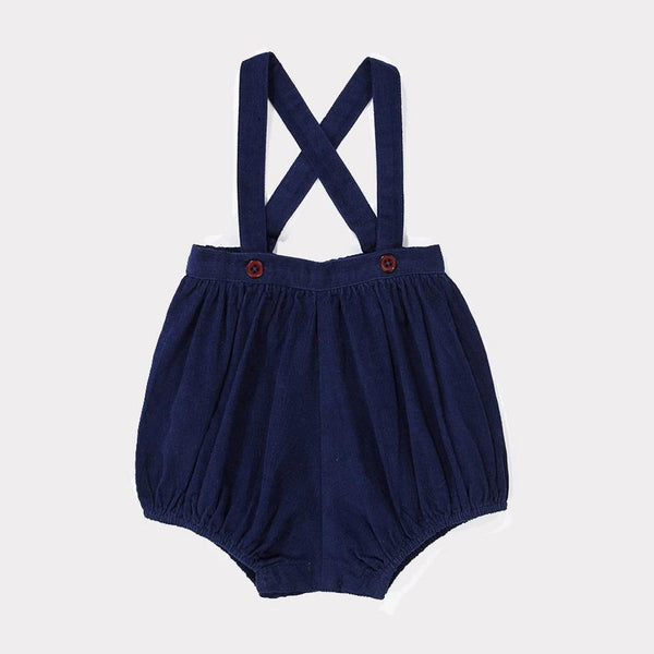 Pistis Baby Romper - Royal Blue - Mabel Child
