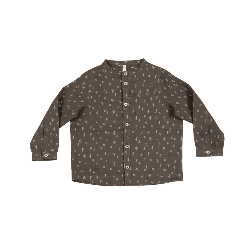Trees Pocketed Shirt - Mabel Child