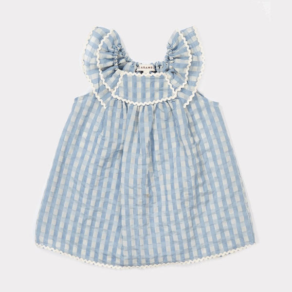 Prespa Baby Dress - Pale Blue - Mabel Child