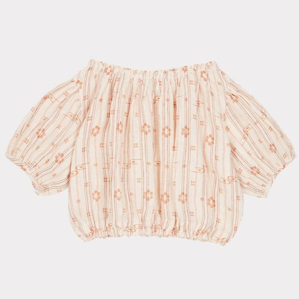 Queens Park Blouse - Rose Tan - Mabel Child